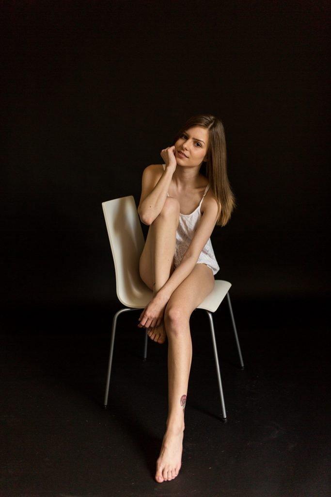 Muriel - Boudoir in meinem Studio Homeshooting - Akt Erotik Boudoir Fotograf sexy Homeshooting nackt