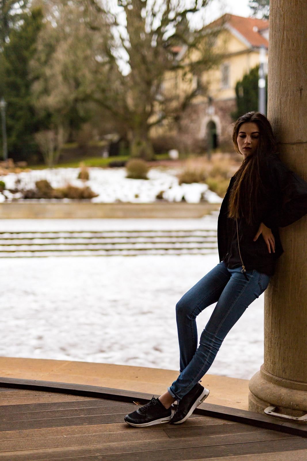 Lifestyle und People Fotografie mit Denisa in Eisenach