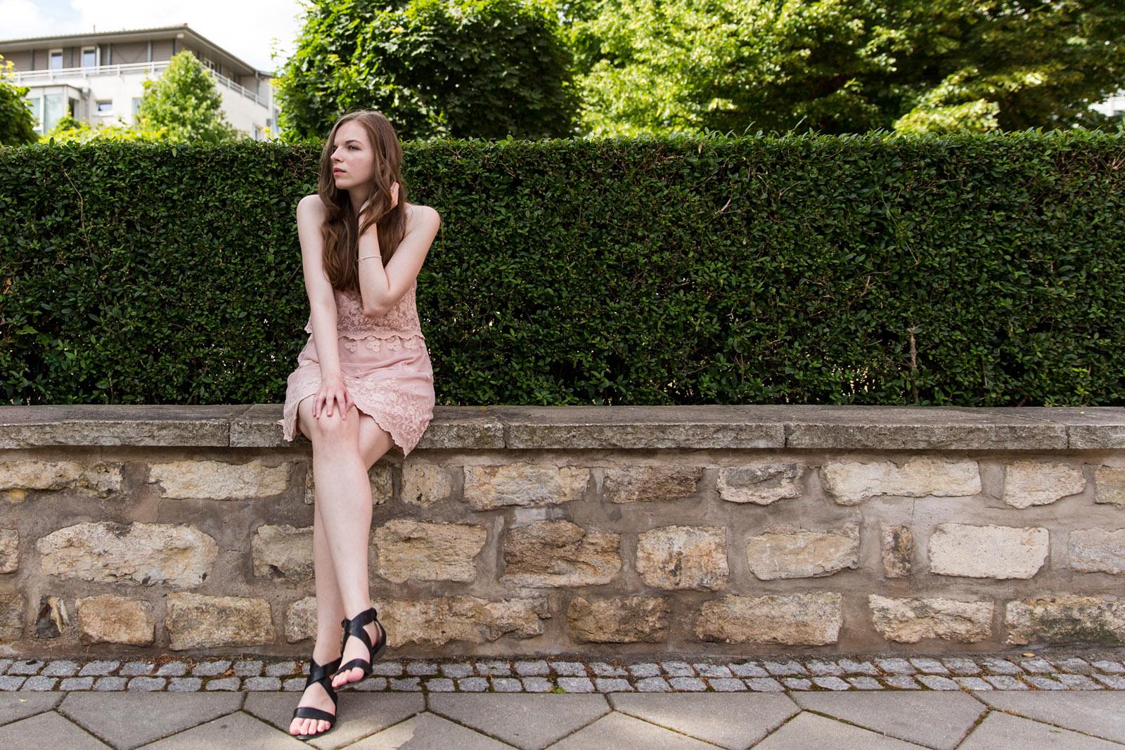Lifestyle-, Fashion- und People- Fotografie mit Model Kate in Erfurt