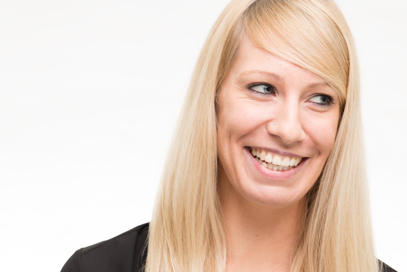 Portrait bzw Headshot von Danika im Peter Hurley Style Stil