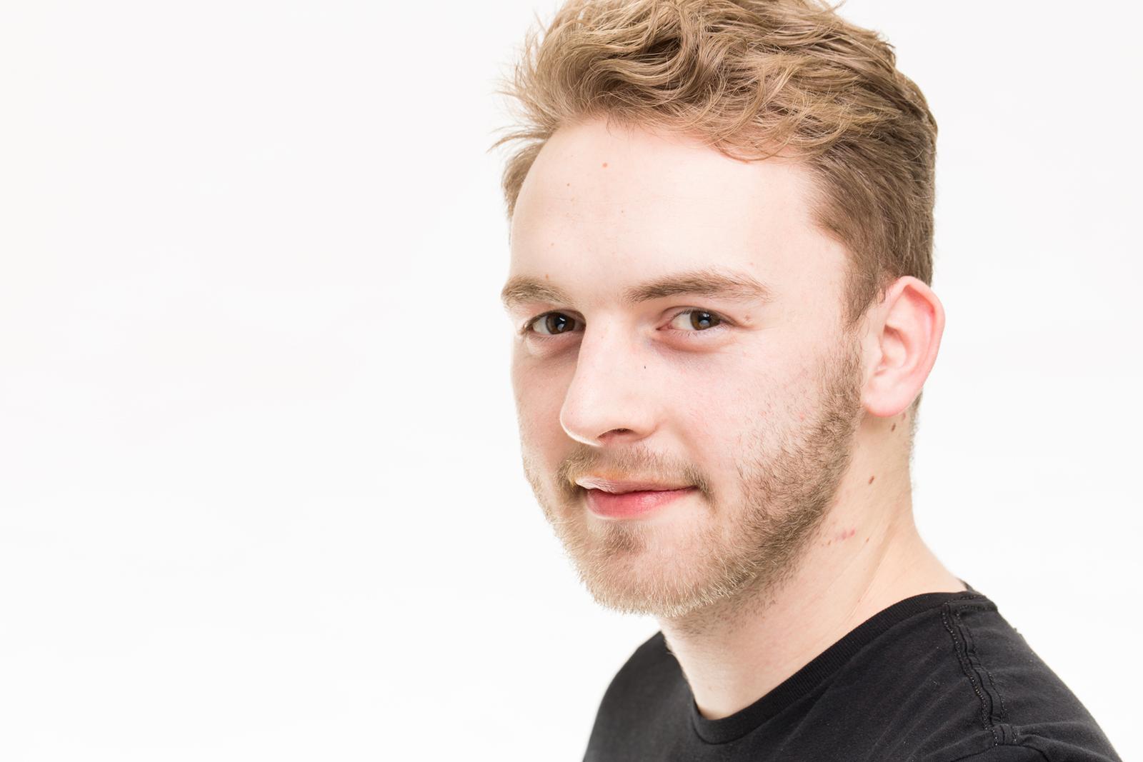 Portrait bzw Headshot von Erik im Peter Hurley Style Stil