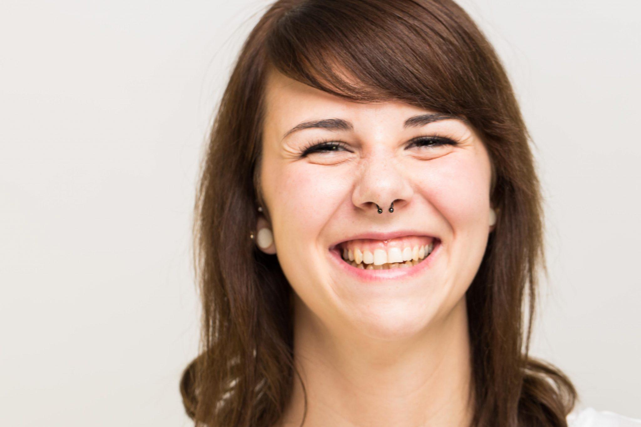 Portrait bzw Headshot von Julia im Peter Hurley Style Stil