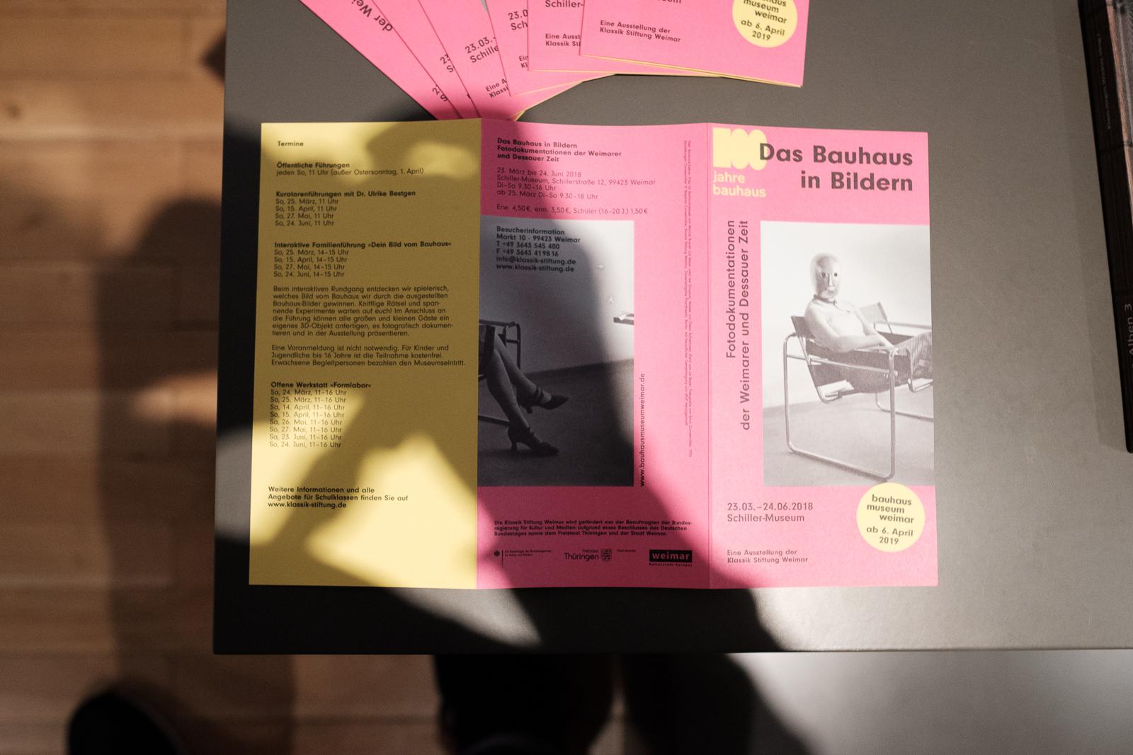 Bauhaus Ausstellung Weimar Schillerhaus