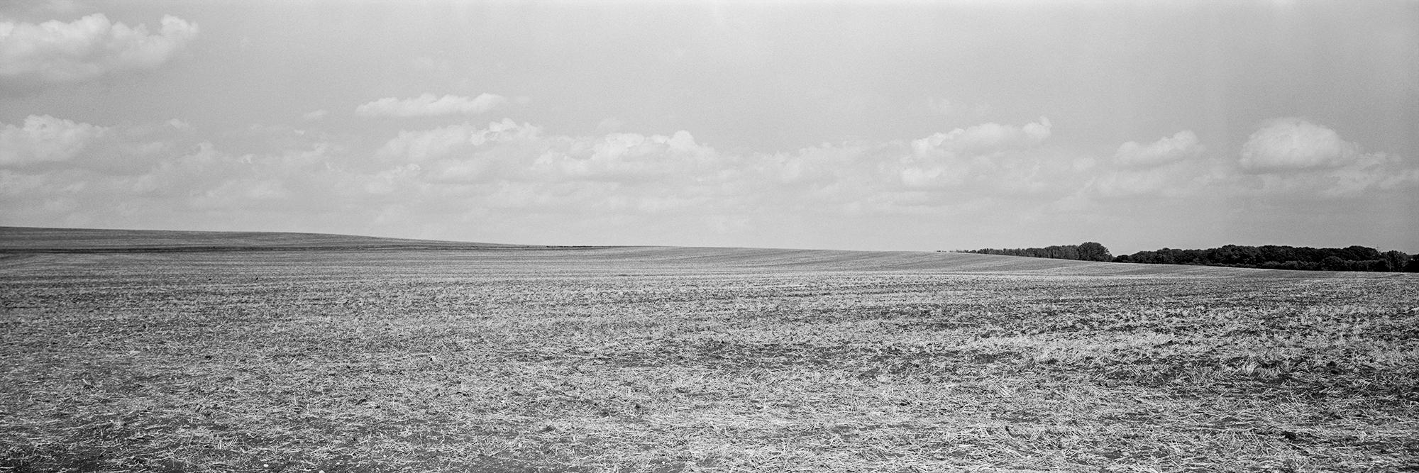 Landschaftspanorama 6x17 analog schwarzweiss
