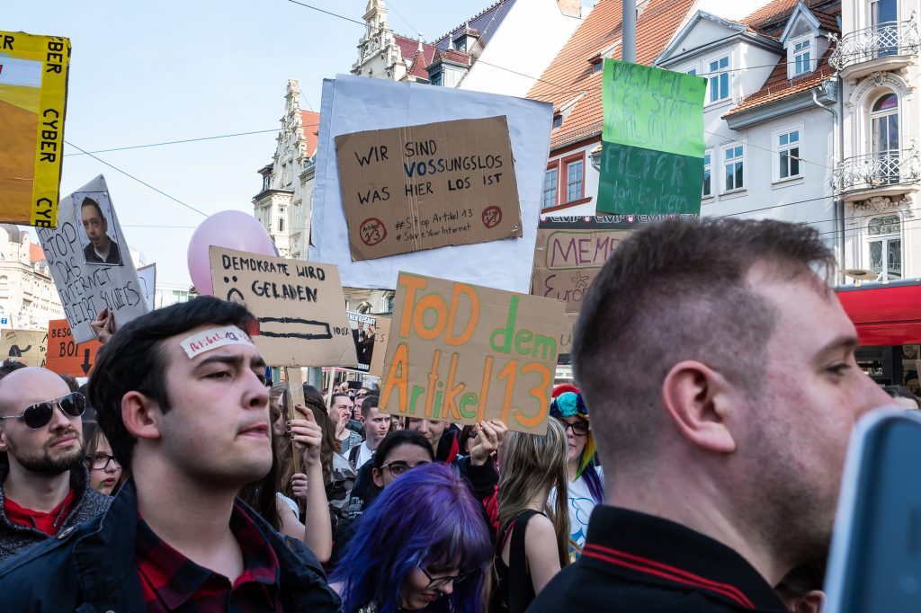 Artikel 13 Demo Rostock