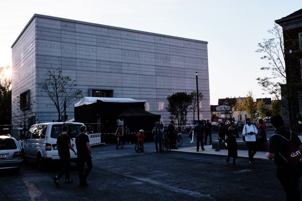 Bauhaus Museum Weimar bearbeitet in CaptureOne