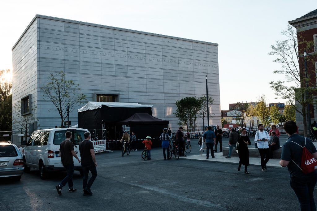Bauhaus Museum Weimar bearbeitet in Lightroom