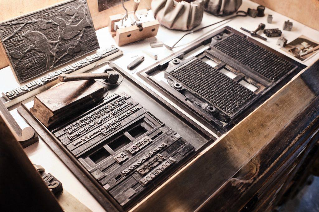 Drucklettern bearbeitet in CaptureOne