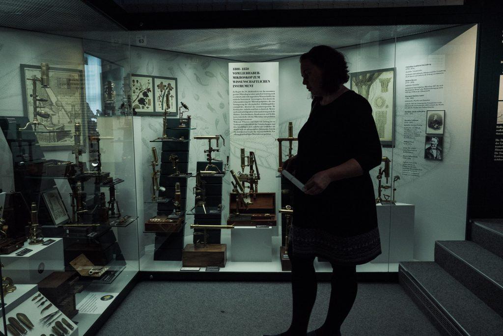 Mikroskope im Deutsches Optisches Museum (D.O.M.)