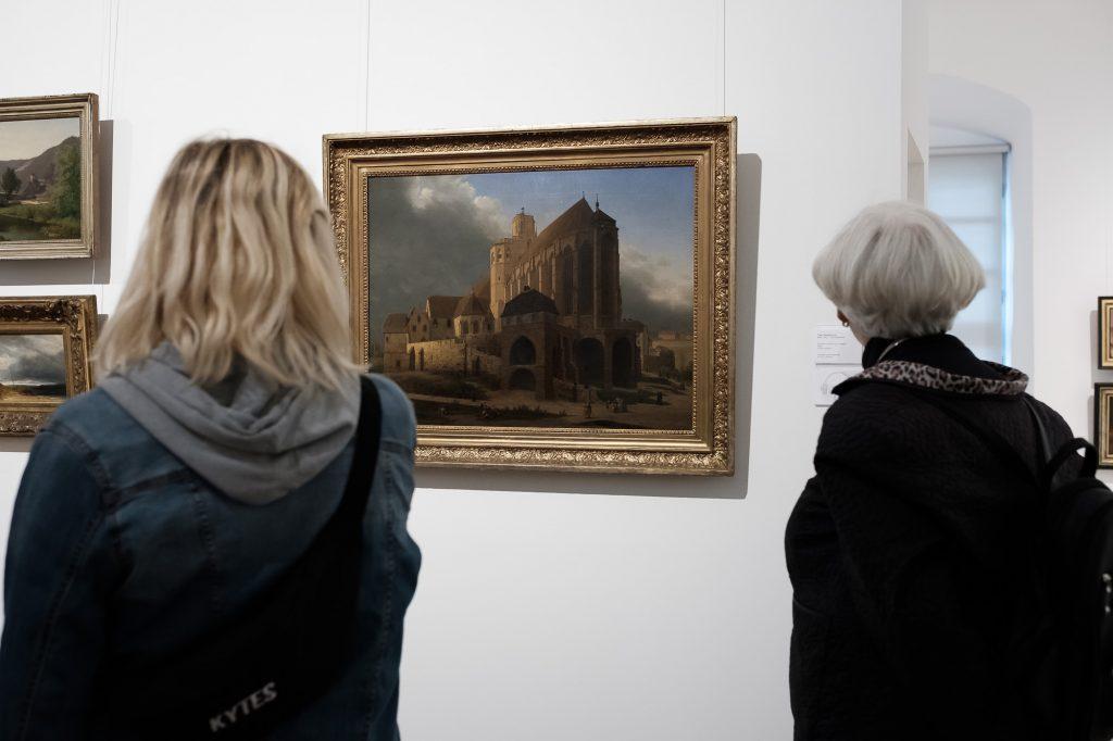 Ein Bild des Erfurter Doms im Angermuseum Erfurt