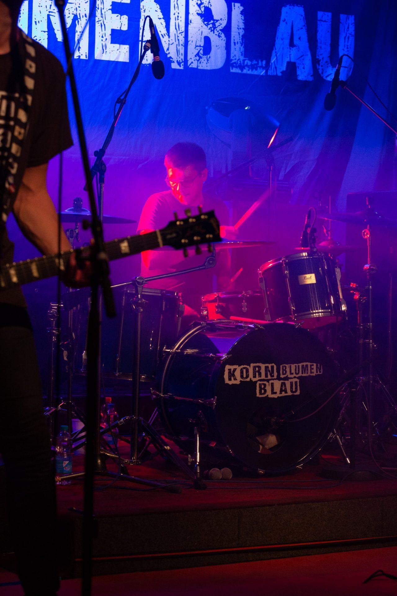 Kornblumenblau - Drummer