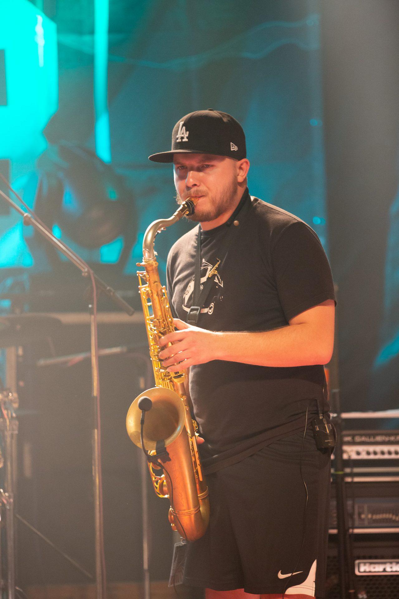 NH3 - Saxophonist